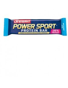 ENERVIT Power Sport Protein Bar Barretta proteica da 40 g con vitamine e minerali - Gusto Cocco-Ciok