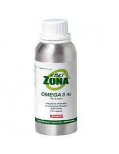 Omega 3 RX - Enerzona Integratore Omega 3 Flacone da 210 capsule da 0,5g