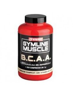 BCAA Amminoacidi ramificati - Enervit Gymline Barattolo da 300 compresse da 1 g