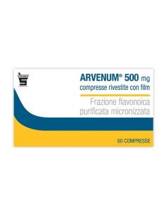 Arvenum 60 Compresse Rivestite da 500 mg