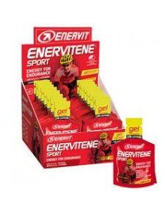 Enervitene Sport con Caffeina - Gel Energetico Carboidrati e Vitamine 1 Minipack da 25 ml GUSTO AGRUMI con Caffeina