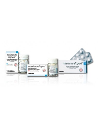 Valeriana Dispert 60 Compresse Rivestite 45 mg