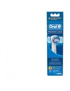 Testine di ricambio ORAL-B Precision Clean Confezione da 3 testine di ricambio per  spazzolino elettrico ricaricabile