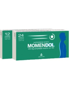 Momendol 220 24 Compresse Rivestite 220 mg