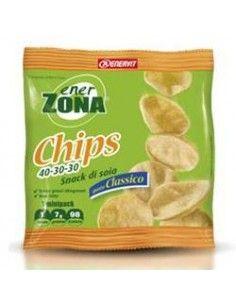 EnerZona Chips Snack Patatine 1 sacchetto monoporzione  da 23 gr GUSTO CLASSICO