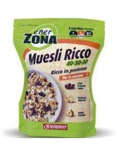 Enerzona Muesli Confezione con zip apri e chiudi da 230 g per 10 colazioni
