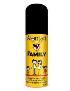 Alontan Family Insettorepellente - Barriera multi-insetto Flacone spray da 75 ml