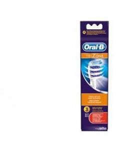 Oral-B TriZone - Testine di ricambio Confezione da 3 testine di ricambio per spazzolino elettrico ricaricabile