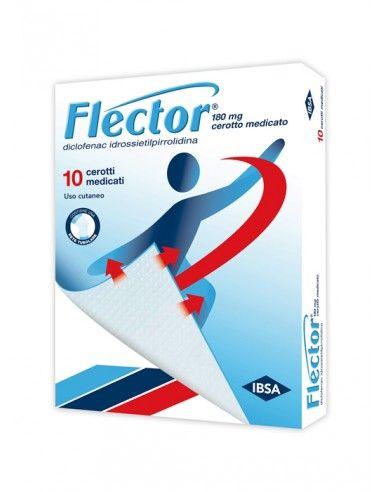 Flector 10 Cerotti Medicati 180mg