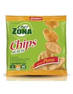 Enerzona Chips Snack Patatine Dieta a Zona 1 sacchetto monoporzione  da 23 g - GUSTO PIZZA