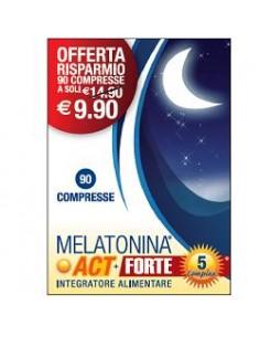 Melatonina Act + Forte 5 Complex Flacone da 90 compresse da 150 mg