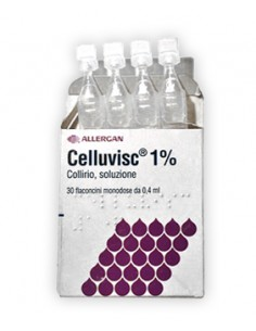 Celluvisc Collirio 30 Flaconcini 0,4 ml 10 mg
