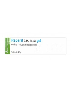 Reparil Gel Tubo da 40g 1%+5%
