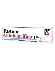 Fastum Antidolorifico 1% Gel 50g