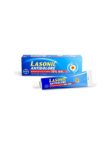 Lasonil Antidolore Gel 50g 10 %