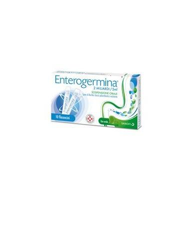 Enterogermina 10 Flaconi 2mld/5ml