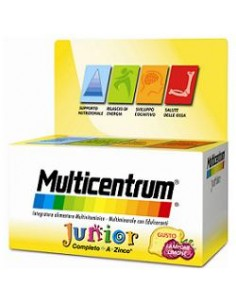 Multicentrum Junior Confezione da 30 compresse masticabili