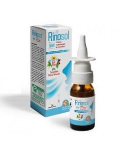 Rinosol 2Act Spray Nasale Flacone 15 ml con nebulizzatore spray