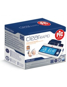 Pic Solution Clear Rapid - Misuratore di pressione digitale 1 misuratore di pressione digitale