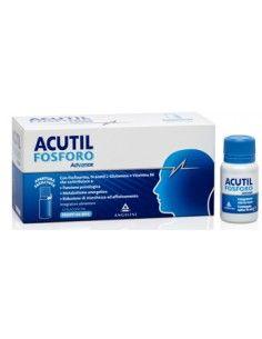 Acutil Fosforo Advance - Integratore per Concentrazione e Attenzione 10 flaconcini da 10 ml