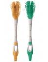 MAM Soft Brush Scovolino Biberon e Tettarelle 1 pezzo White & Green