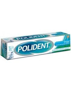 Polident Free - Adesivo per Dentiere Ipoallergenico Tubetto da 40g e