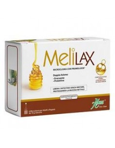 Melilax Microclisma con Promelaxin ® - Adulti 6 microclismi monouso da 10 g ciascuno