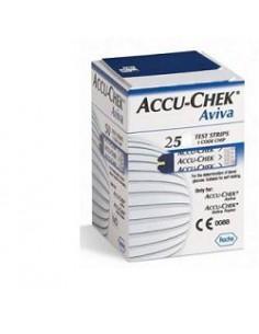 Accu-Chek Aviva Confezione da 25 strisce reattive