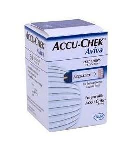 Accu-Chek ® Aviva Strisce Reattive per Glucometro 50 strisce reattive