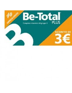 Be-total Plus 40 Compresse...
