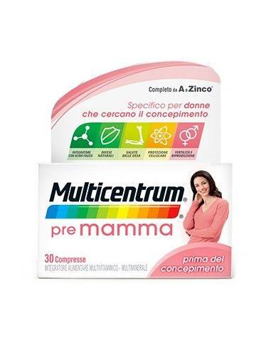 Multicentrum Pre Mamma - Integratore Pre-concepimento Confezione da 30 compresse