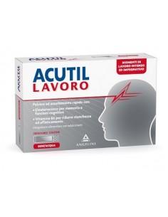 Acutil Lavoro Bustine Orosolubili - Energia mentale e Performance 12 bustine orosolubili