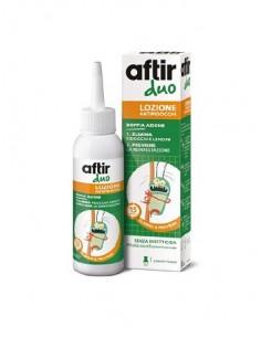Aftir Duo Lozione Antipidocchi a doppia azione Flacone da 100 ml con pettinino