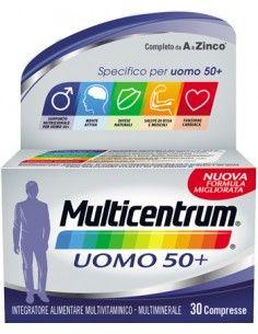 Multicentrum Uomo 50+ Confezione da 30 compresse