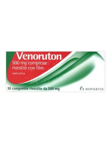Venoruton 30 Compresse Rivestite 500 mg