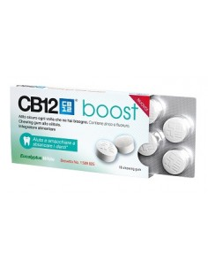 CB 12 BOOST chewing-gum...