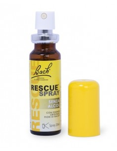 Spray Rescue Bach - Senza Alcool - Essenze Floreali Flacone spray da 20 ml