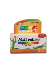 MULTICENTRUM MC ENERGY 60 COMPRESSE