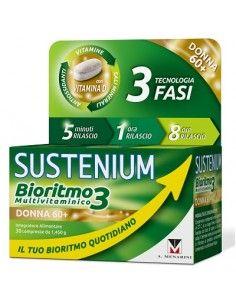 SUSTENIUM BIORITMO3 DONNA 60+ 30 COMPRESSE