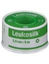 Leukosilk Cerotto simil-seta su rocchetto Cerotto su rocchetto 2.5 cm x 5 m