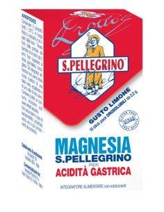 MAGNESIA S PELLEGRINO ACIDITA' GASTRICA 10 BUSTINE