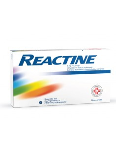 REACTINE 5 MG + 120 MG COMPRESSE A RILASCIO PROLUNGATO