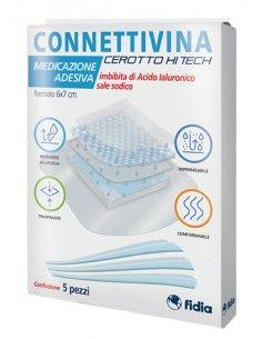 CEROTTO CONNETTIVINA HITECH 6 X 7 CM 5 PEZZI
