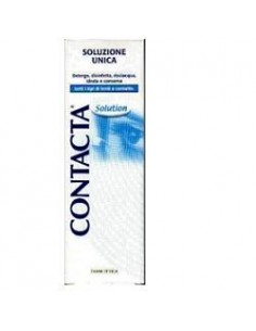 CONTACTA SOLUTION Soluzione unica per lenti a contatto Flacone da 100 ml