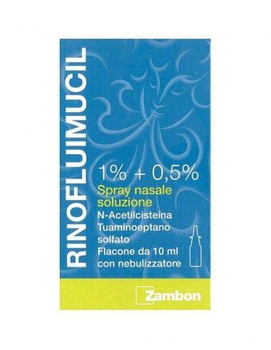 Rinofluimucil 1% + 0,5% Spray Nasale Soluzione 10ml
