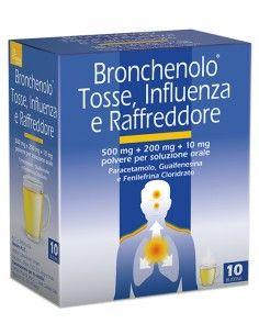 BRONCHENOLO TOSS INFL RAF*10BS