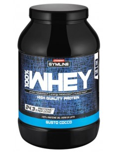 GYMLINE 100% WHEY CONCENTRATE COCCO 900 G