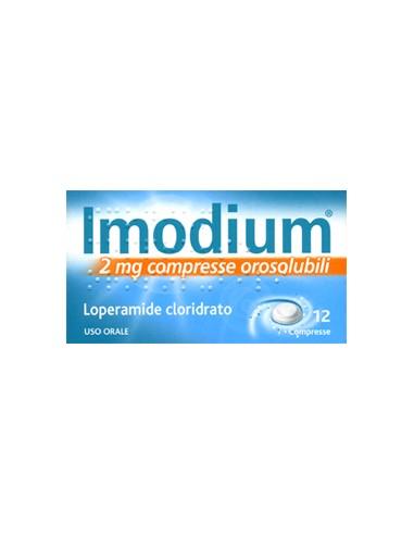 Imodium 12 Compresse Orosolubili 2 mg