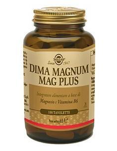 Solgar Dima Magnum Mag Plus Flacone da 100 tavolette
