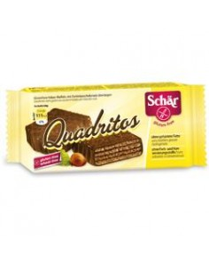 Schär Quadritos (wafers) - Confezione da 40 g  (2 wafer da 20 g)